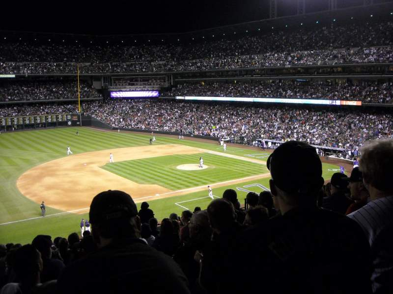 Seating view for Coors Field Section 242 Row 10 Seat 13