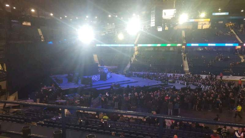 Seating view for Allstate Arena Section 203 Row C Seat 8