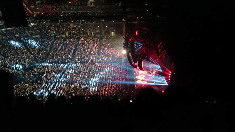 Barclays Center, section: 206, row: 22, seat: 21