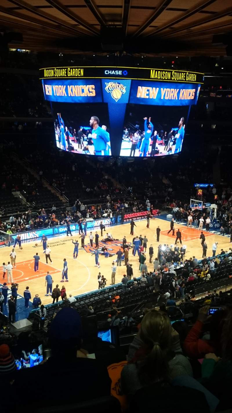 Seating view for Madison Square Garden Section 211