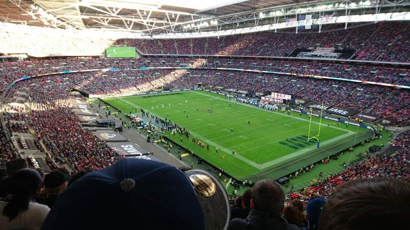 Seating view for Wembley Stadium Section 504 Row 17 Seat 95