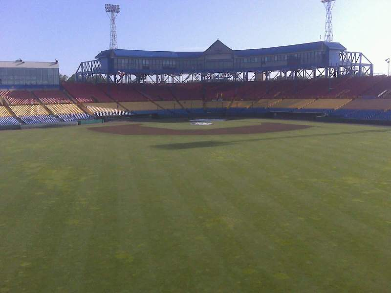 Seating view for Rosenblatt Stadium