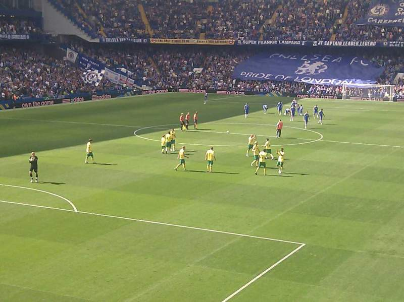 Seating view for Stamford Bridge Section Shed End Lower 2