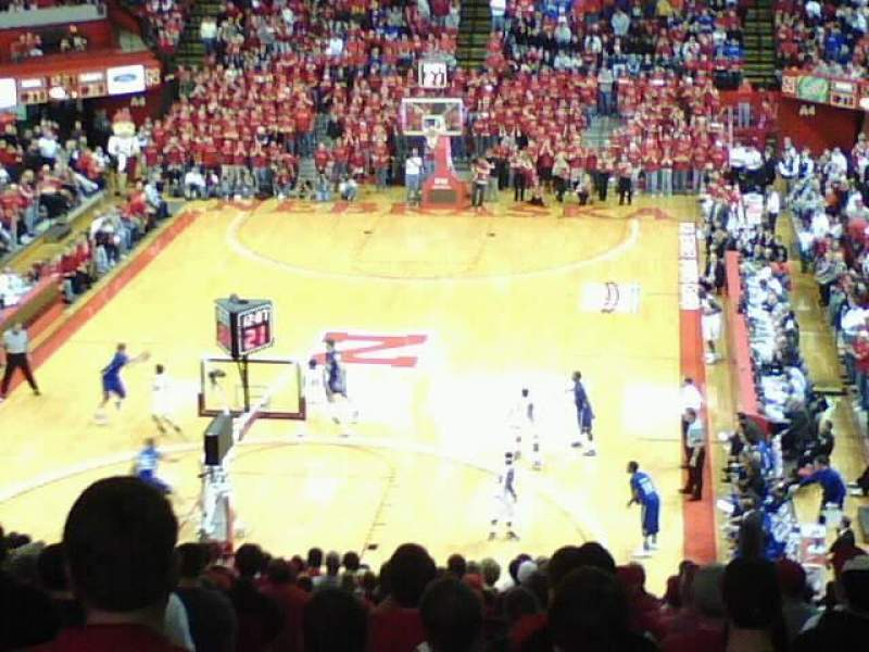 Seating view for Bob Devaney Sports Center Section C5