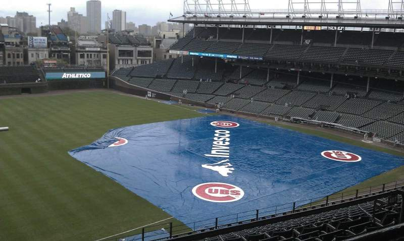 Wrigley Field, section: 508, row: 1, seat: 6
