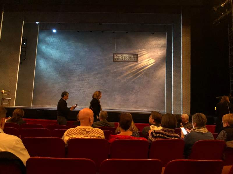 Seating view for Cadillac palace theater Section Orchestra c Row F Seat 115