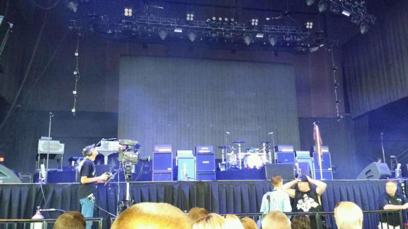 Jiffy Lube Live, section: Orchestra 2, row: F, seat: 25