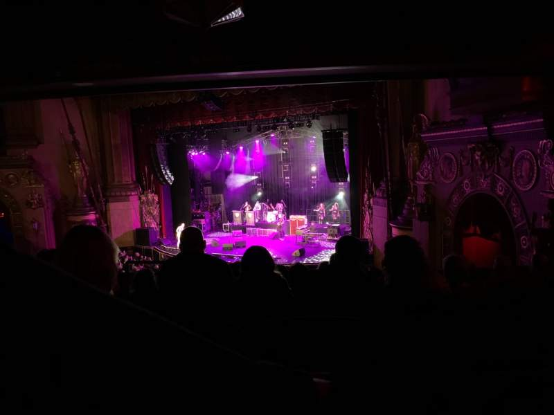 Seating view for Beacon Theatre Section Loge 4 Row G Seat 40