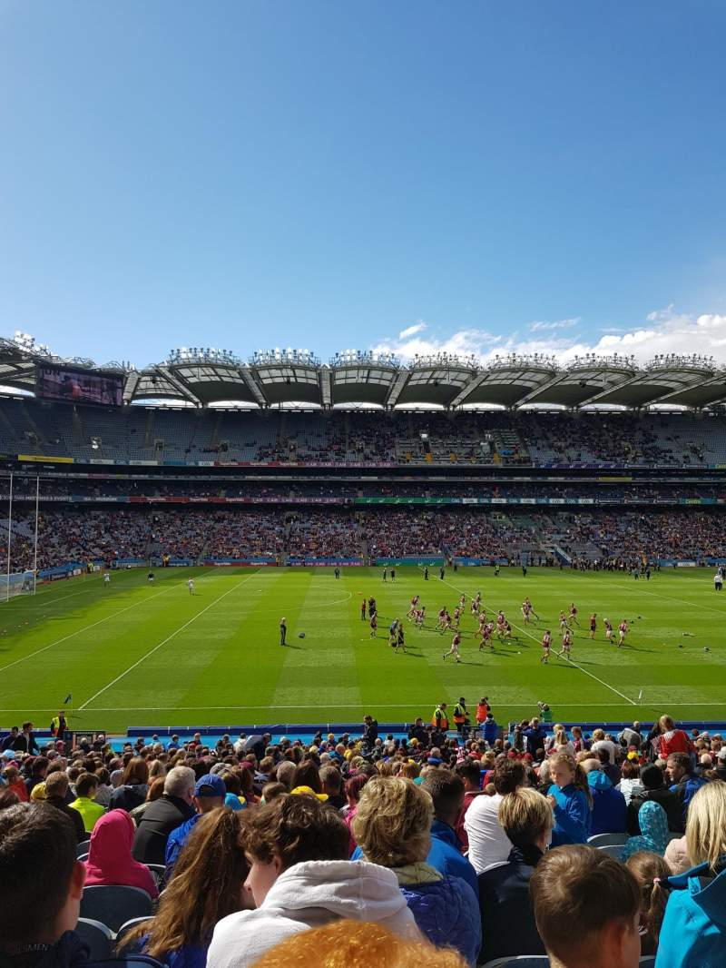Seating view for Croke Park Section 308 Row MM Seat 23