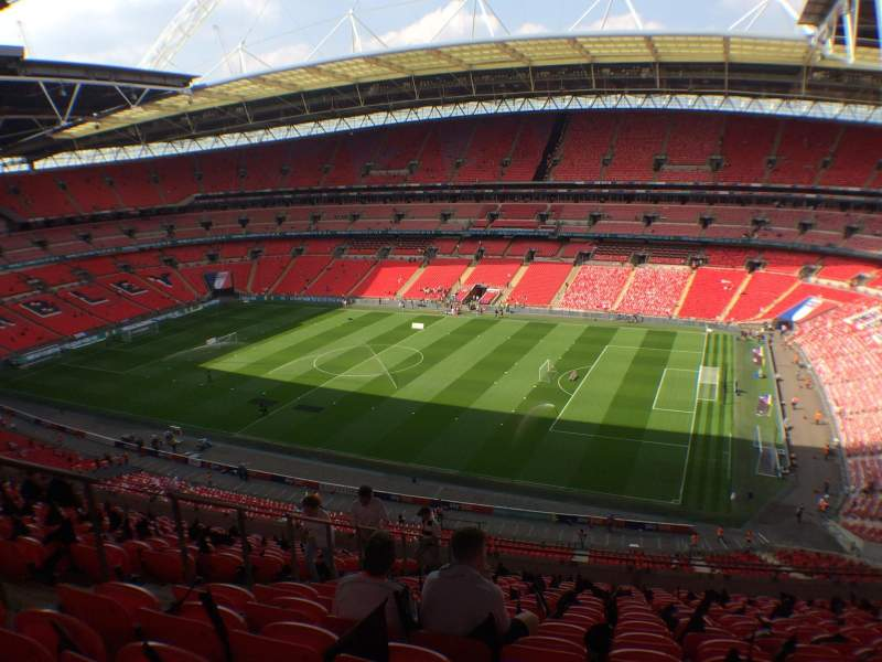 Seating view for Wembley Stadium Section 523 Row 15 Seat 280