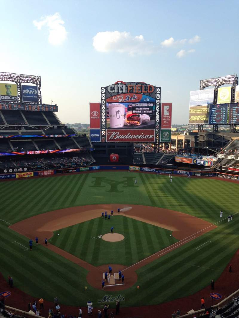 Seating view for Citi Field Section 514 Row 1 Seat 8