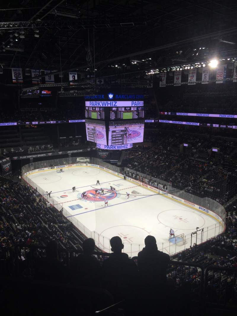 Seating view for Barclays Center Section 219 Row 12 Seat 9