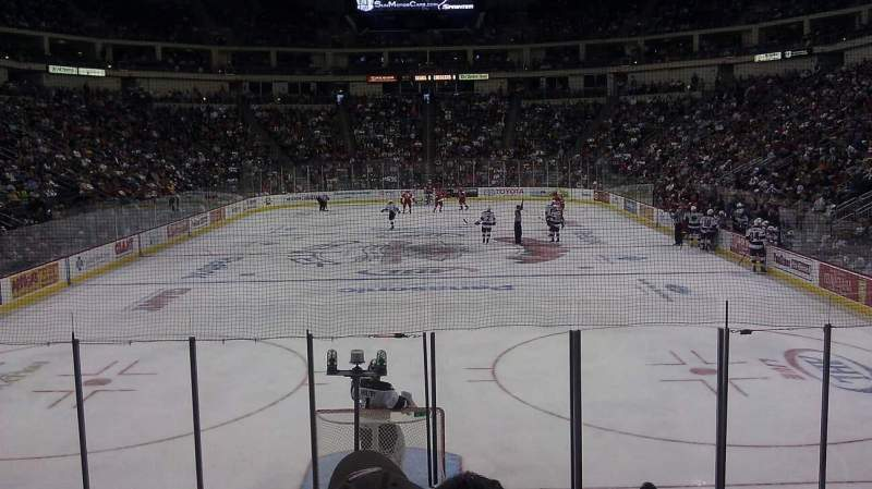 Seating view for Giant Center Section 114 Row L Seat 12