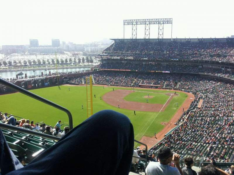 Seating view for AT&T Park Section 334 Row 11 Seat 19
