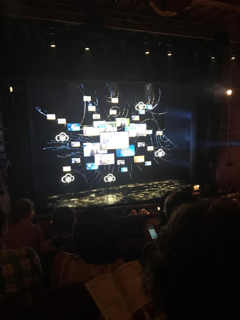 Seating view for August Wilson Theatre Section Mezzanine L Row D Seat 5