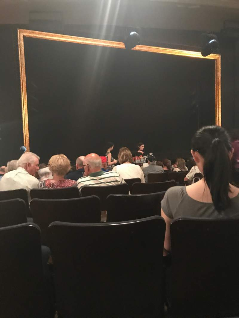 Seating view for Ambassador Theatre Section Orchestra L Row N Seat 7