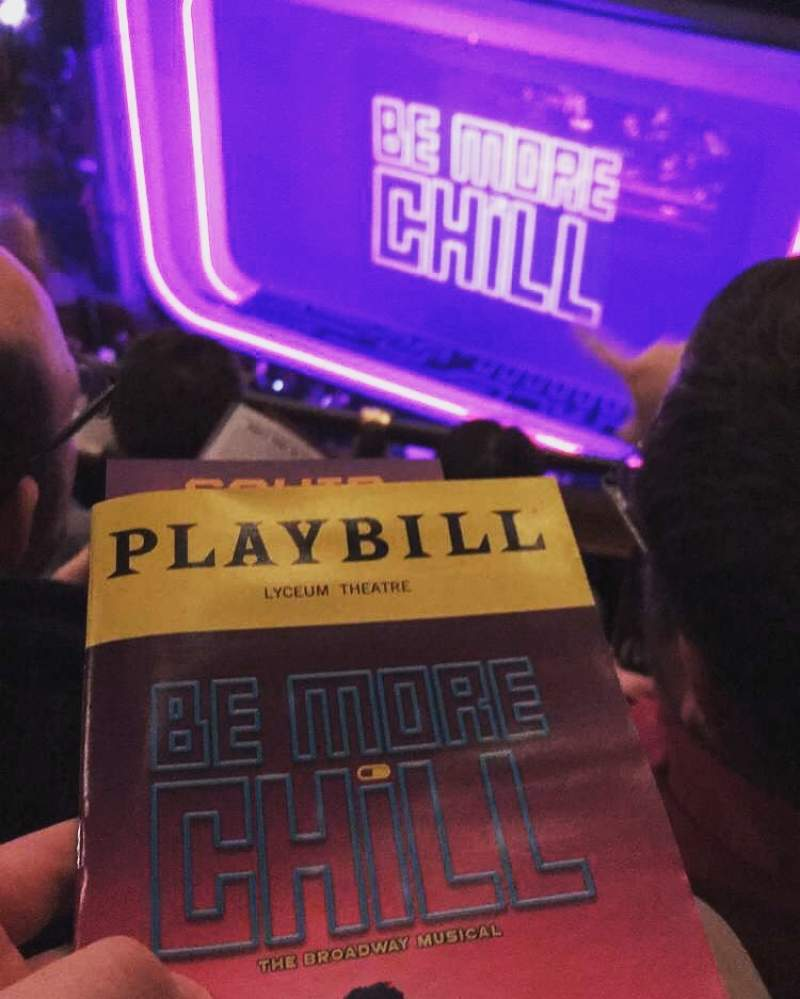 Seating view for Lyceum Theatre (Broadway) Section Balcony R Row C Seat 10