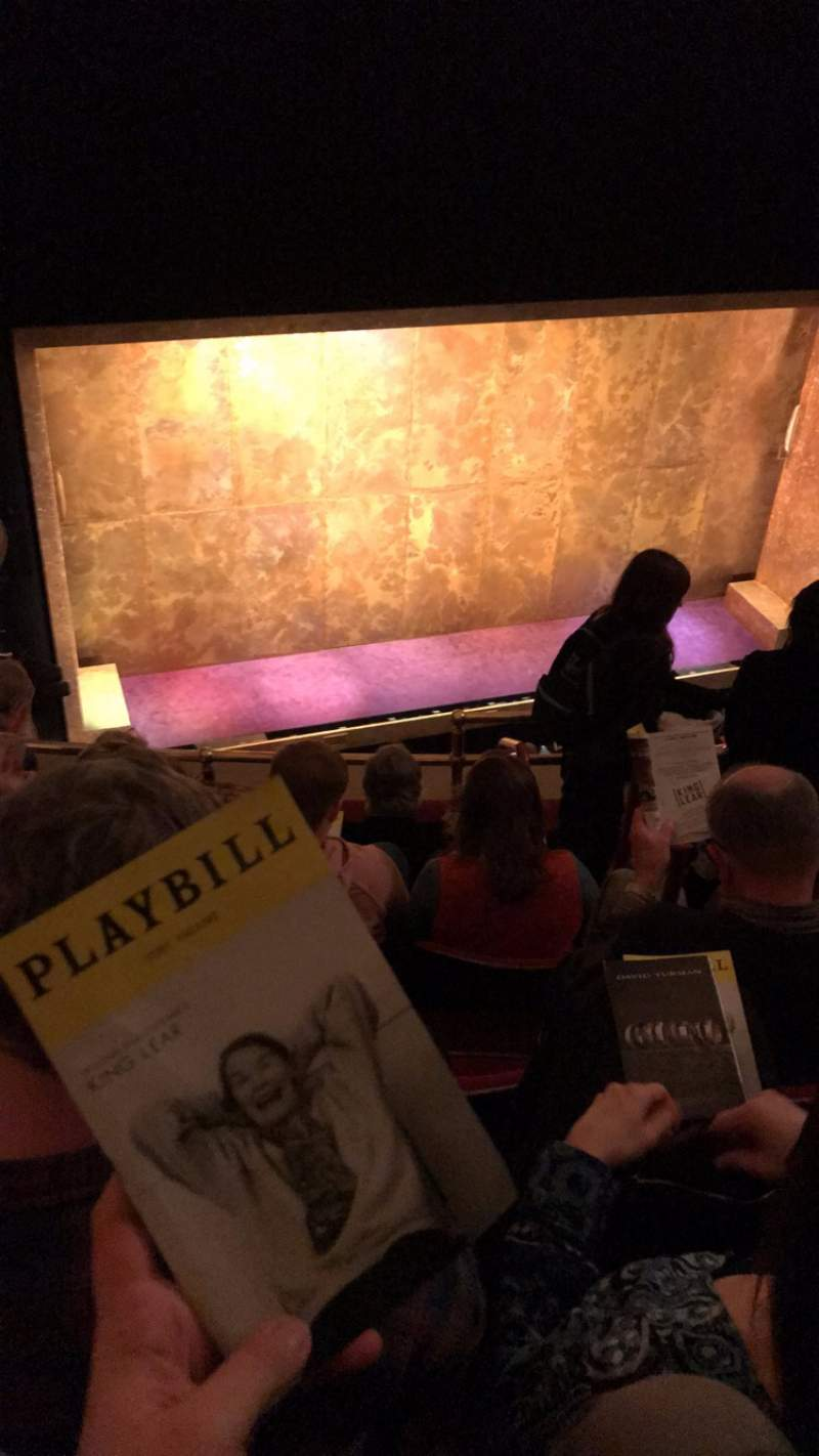 Seating view for Cort Theatre Section Balcony L Row E Seat 5