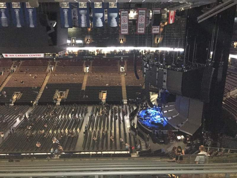 Scotiabank Arena, section: 320, row: 13 , seat: 6