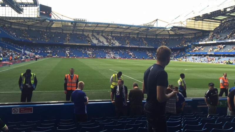 Seating view for Stamford Bridge Section Block 6 Row 10 Seat 162/163
