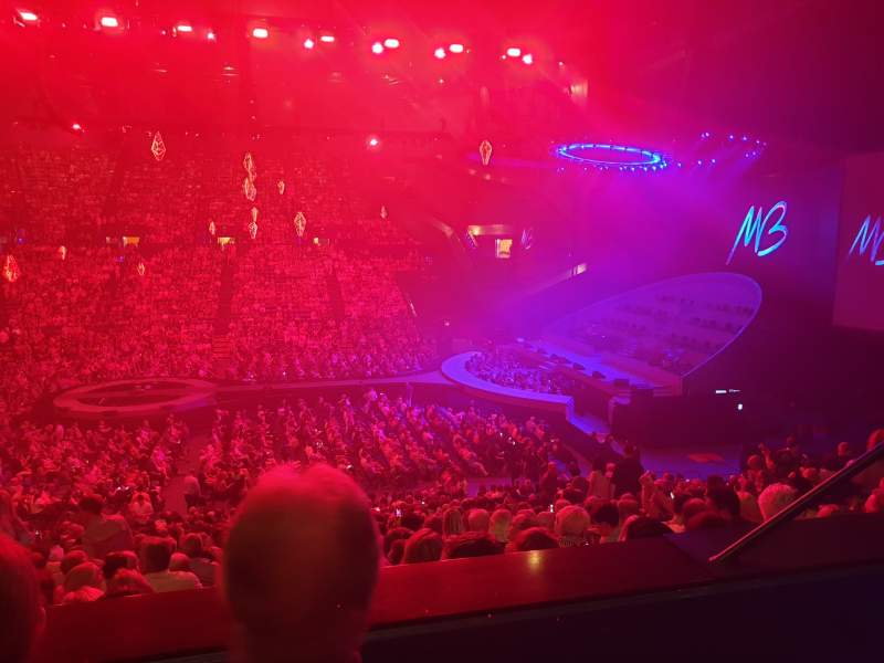 Seating view for RAC Arena Section 305 Row B Seat 7