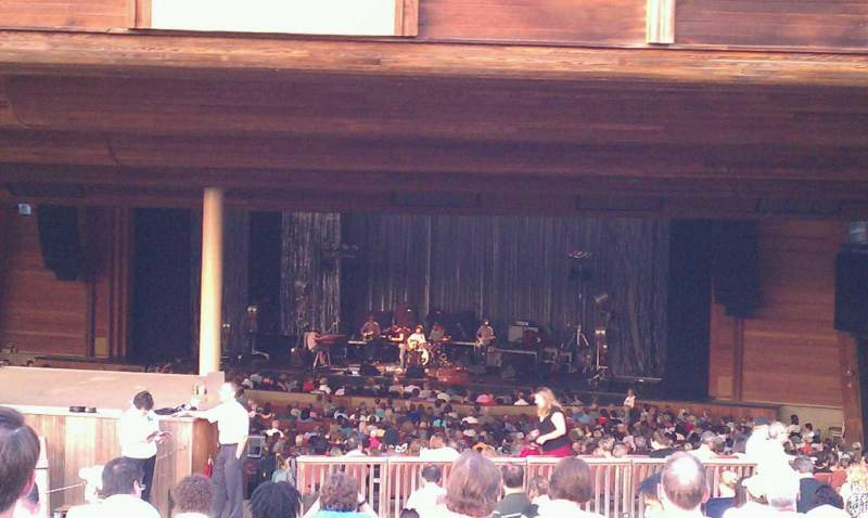 Seating view for Wolf Trap Section Lawn