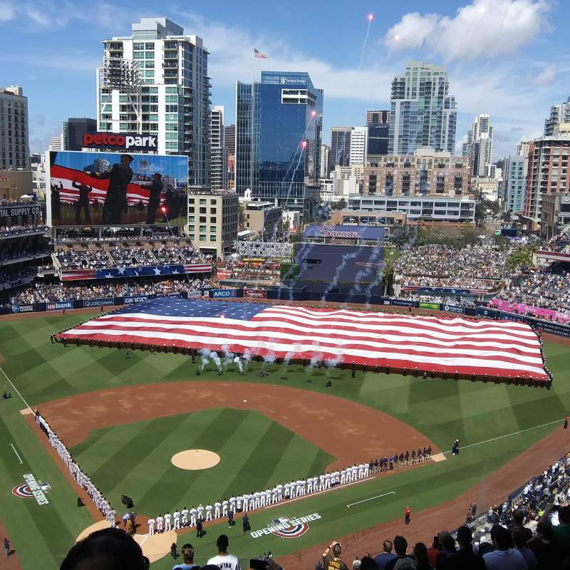 Seating view for PETCO Park Section 303 Row 19 Seat 16