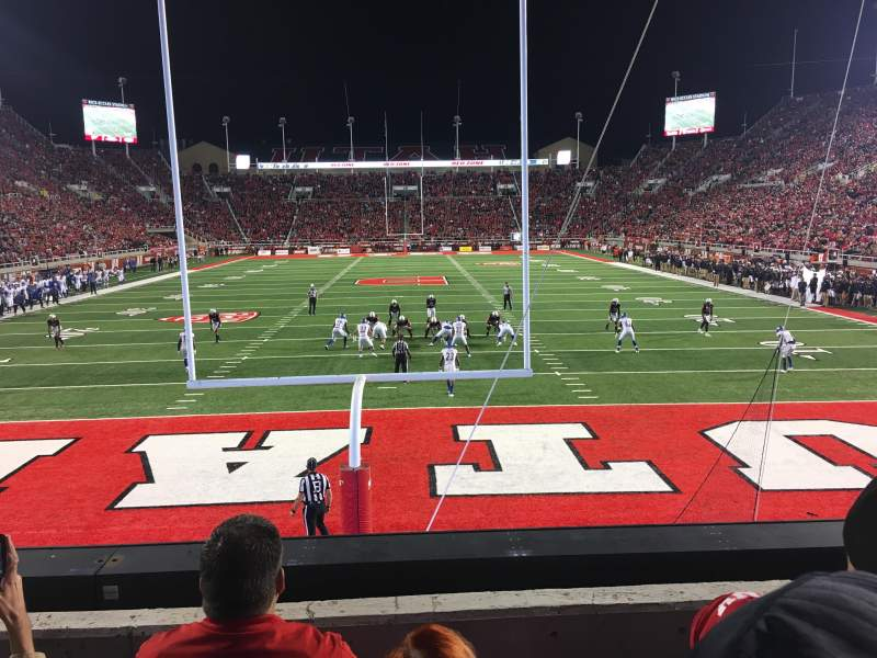Rice-Eccles Stadium, section: S3, row: 3, seat: 8