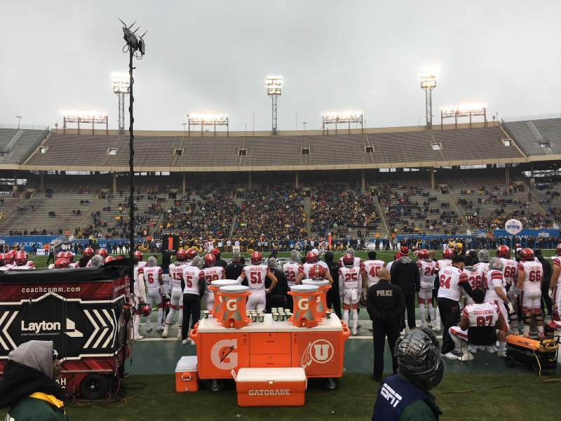 Seating view for Cotton Bowl Section 6 Row 3 Seat 8