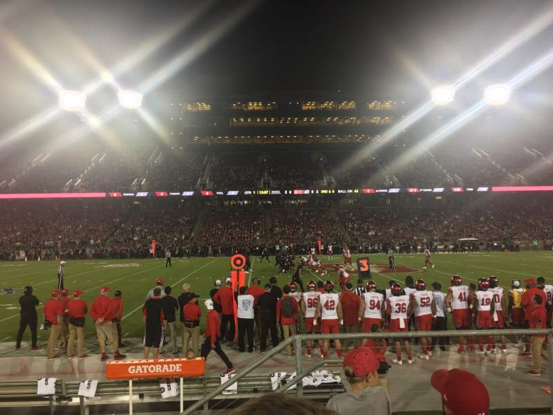 Seating view for Stanford Stadium Section 134 Row D Seat 3