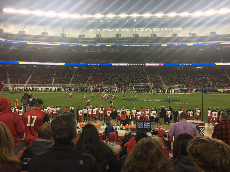 Seating view for Levi's Stadium Section C139 Row 12 Seat 3