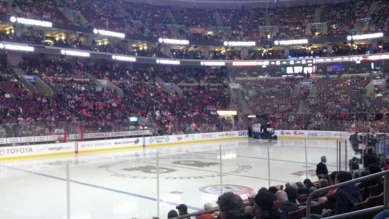 Seating view for Wells Fargo Center Section 111 Row 10 Seat 12