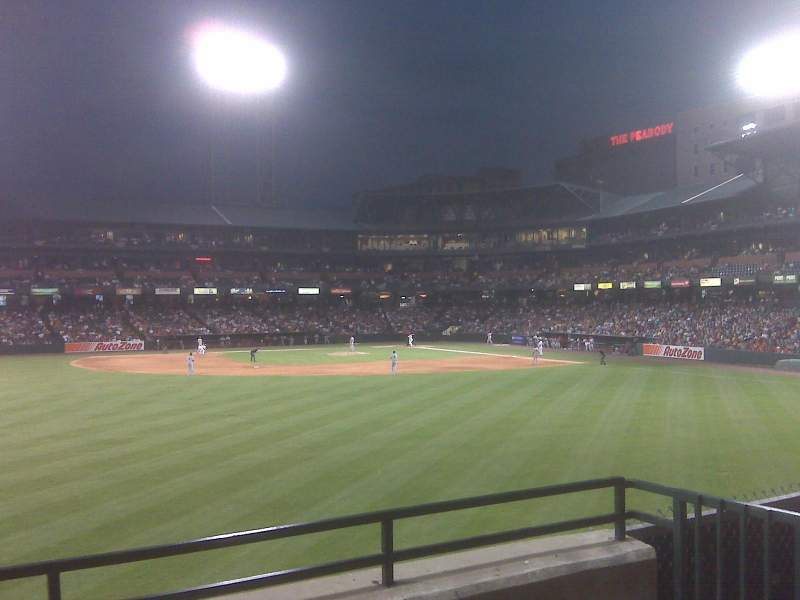 Seating view for AutoZone Park Section Bluff