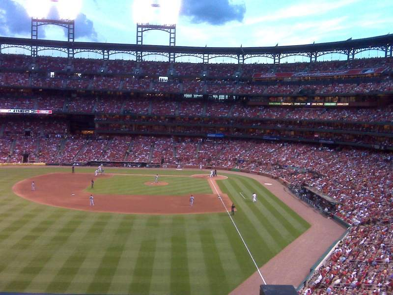Seating view for Busch Stadium Section 271