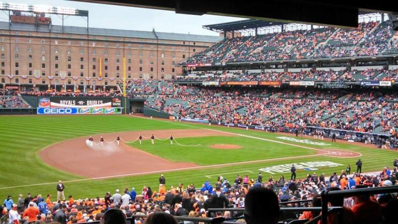 Seating view for Oriole Park at Camden Yards Section 59 Row 8