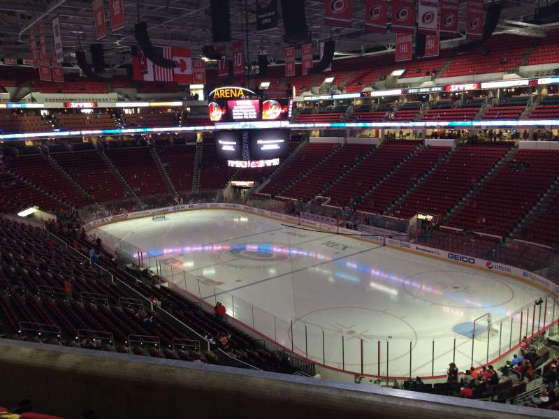 Seating view for PNC Arena Section 216 Row D Seat 5