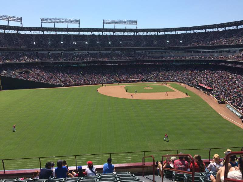 Seating view for Globe Life Park in Arlington Section 202 Row 10