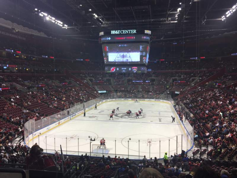 Seating view for BB&T Center Section 108 Row 27