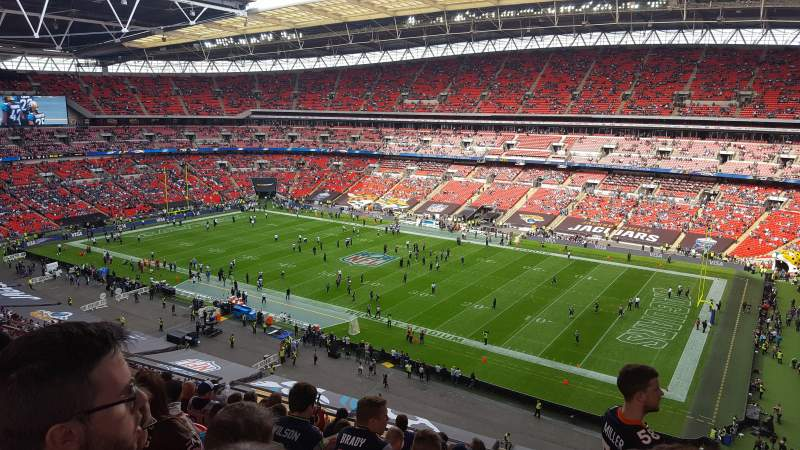 Seating view for Wembley Stadium Section 522 Row 10 Seat 266