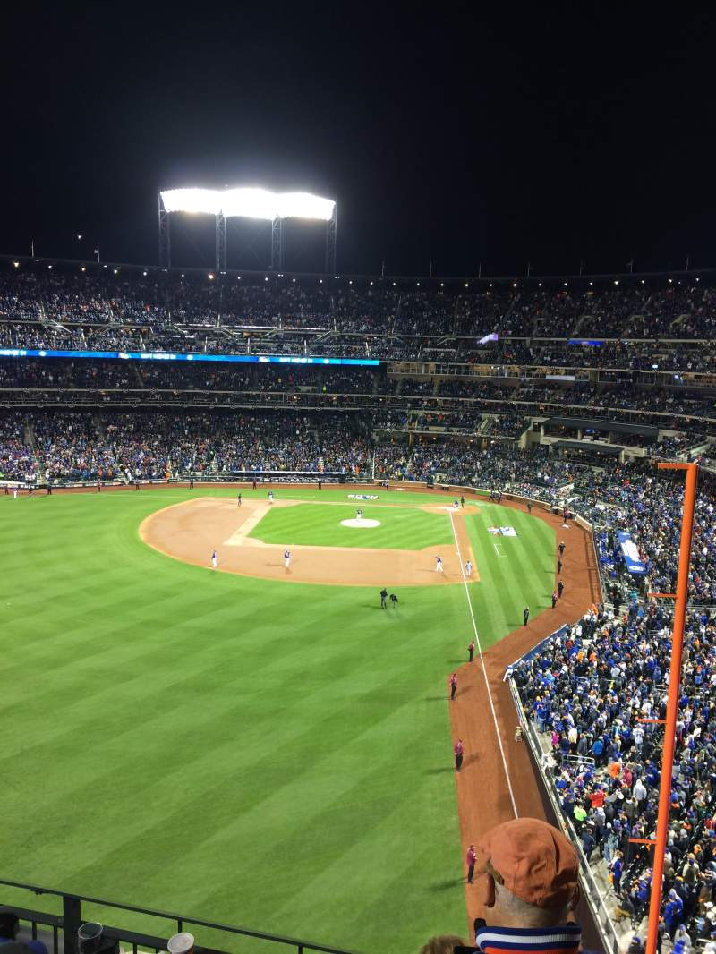 Seating view for Citi Field Section 431 Row 4 Seat 17
