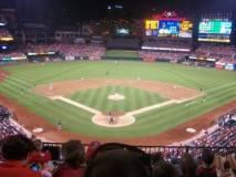 Seating view for Busch Stadium Section 250 Row 6 Seat 8