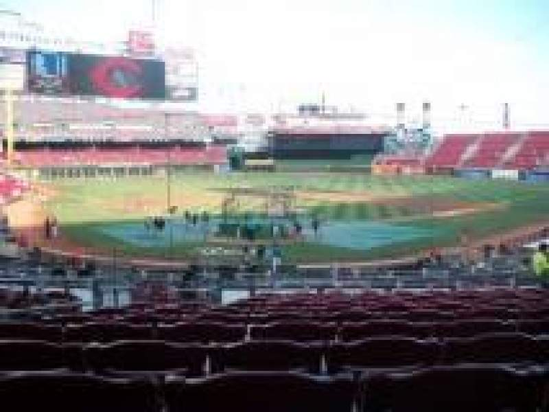 Seating view for Great American Ball Park Section 124 Row k Seat 13