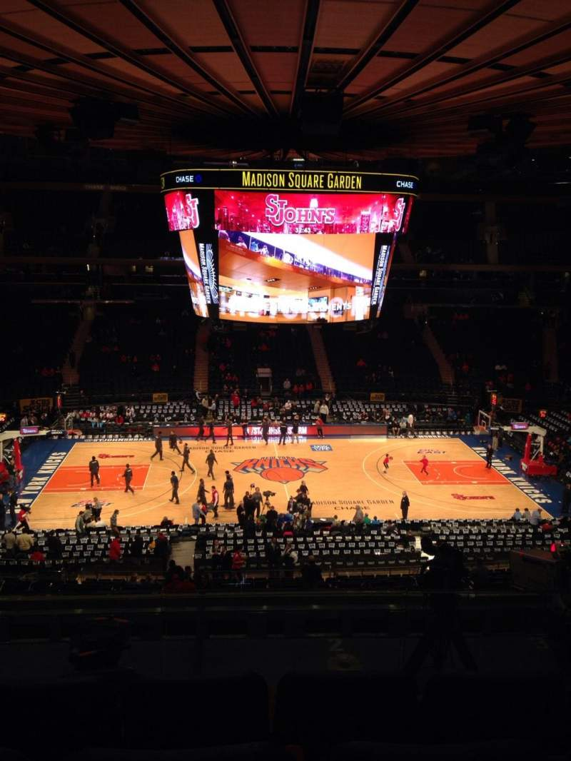 Seating view for Madison Square Garden Section 224 Row 6 Seat 3
