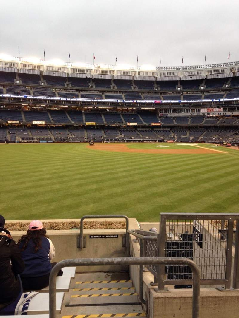 Seating view for Yankee Stadium Section 236 Row 7 Seat 2