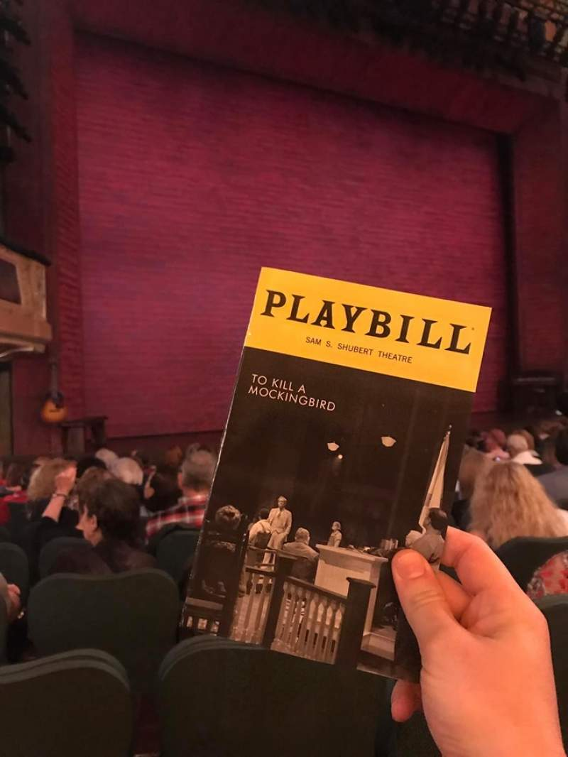 Seating view for Shubert Theatre Section Orchestra L Row N Seat 13