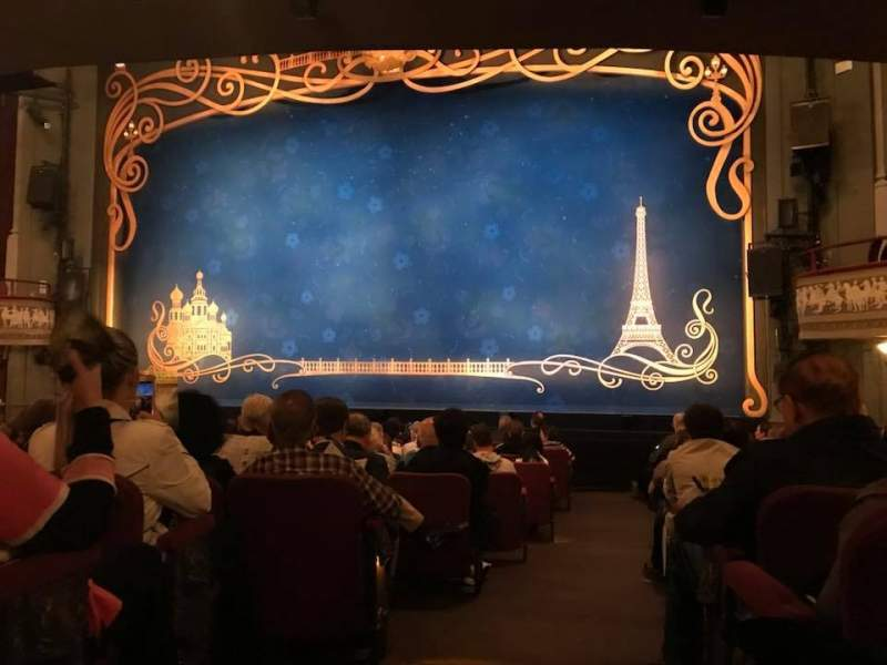 Seating view for Broadhurst Theatre Section Orchestra L Row P Seat 2