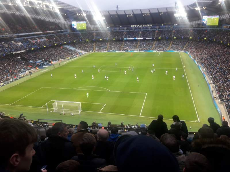 Seating view for Etihad Stadium (Manchester) Section 314 Row K Seat 358
