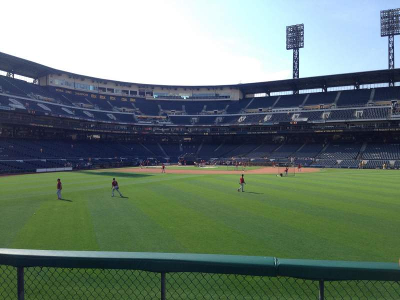 Seating view for PNC Park Section 141 Row D Seat 7