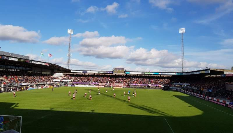 Seating view for Sparta Stadion Section 26 Row 11 Seat 13