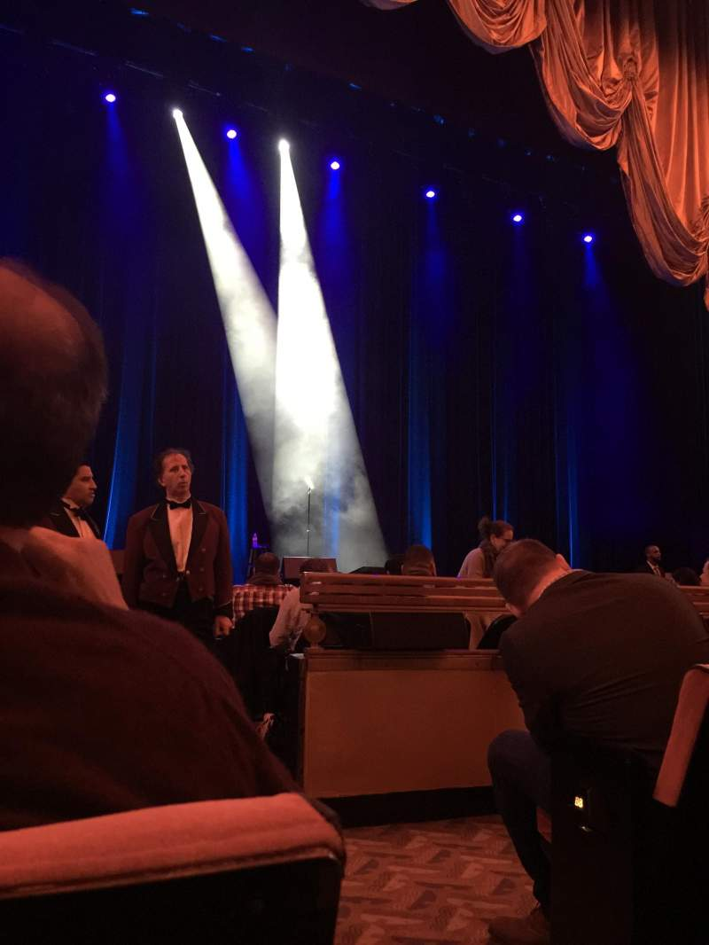 Seating view for Radio City Music Hall Section Orchestra Row DD Seat 501